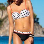 Dwuczęściowy strój kąpielowy na plażę i basen Ewlon Melania