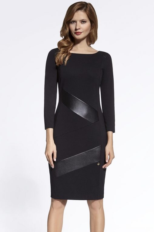 Eleganckie sukienki na wesele, czarne