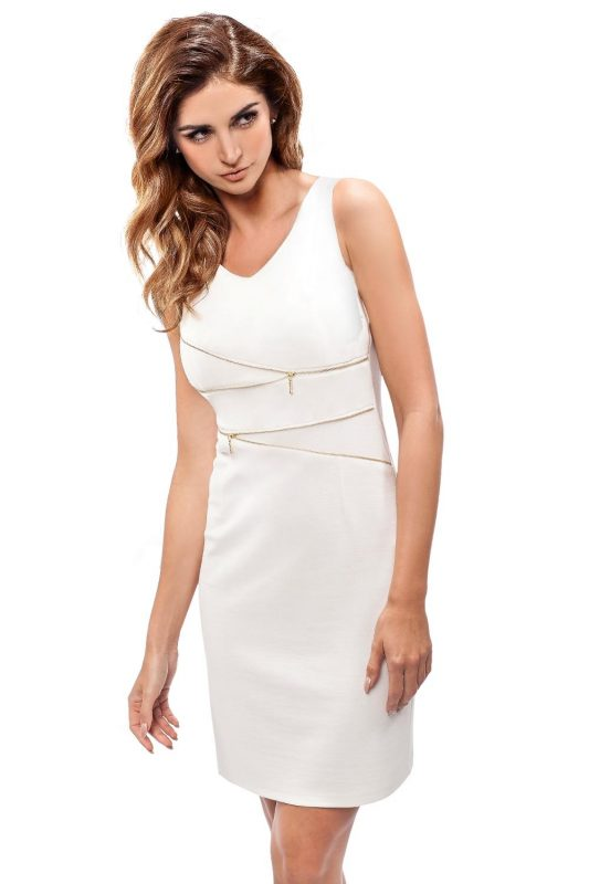 Białe sukienki koktajlowe