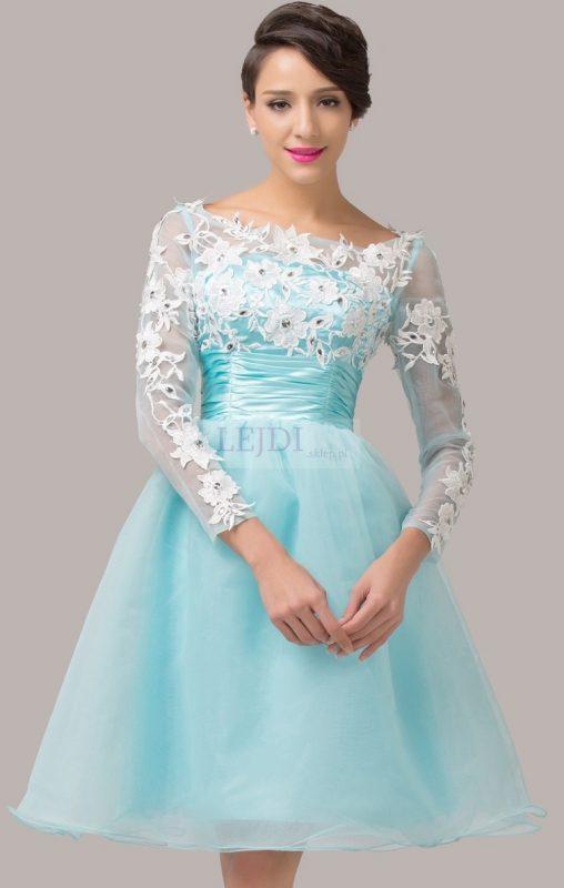 Balowa sukienka na studniówkę