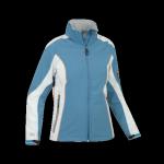 Damska kurtka softshell, chroni przed wiatrem i chłodem, niebieska