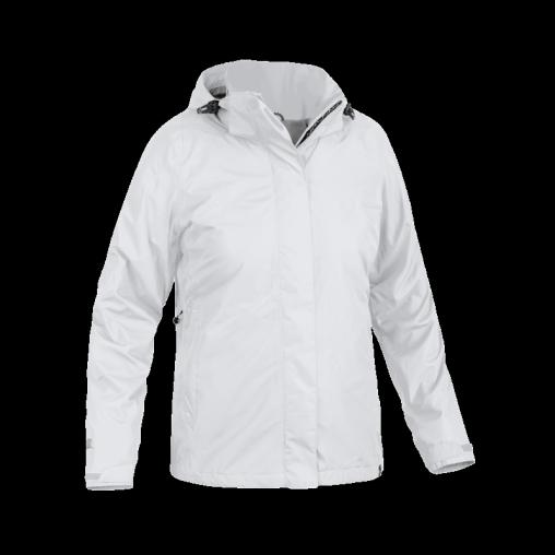 Wiatroodporna sportowa kurtka damska, biała