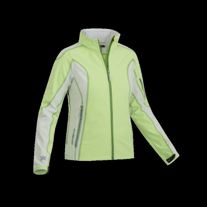 Wiatroodporna sportowa kurtka damska, zielona