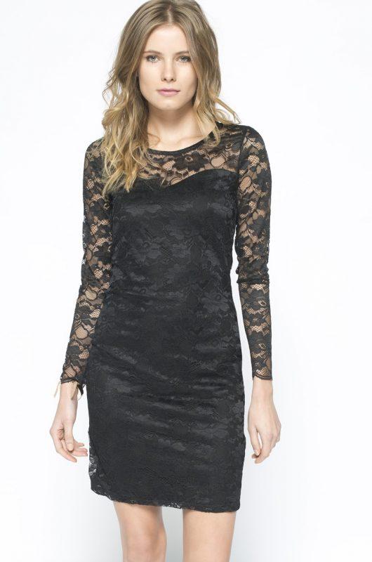 Koronkowa sukienka na wesele lub sylwestra, czarna