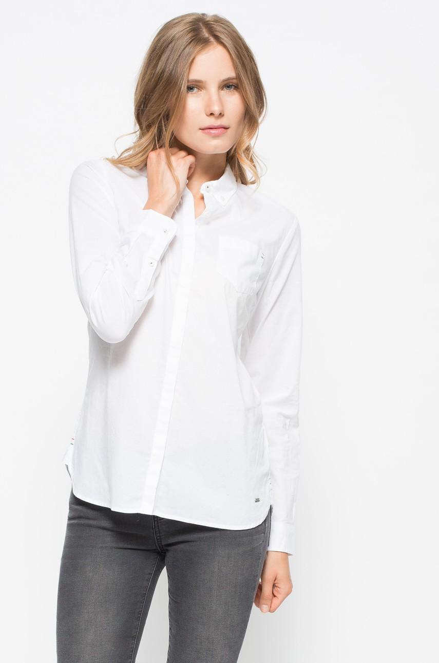 Bawełniana biała koszula damska