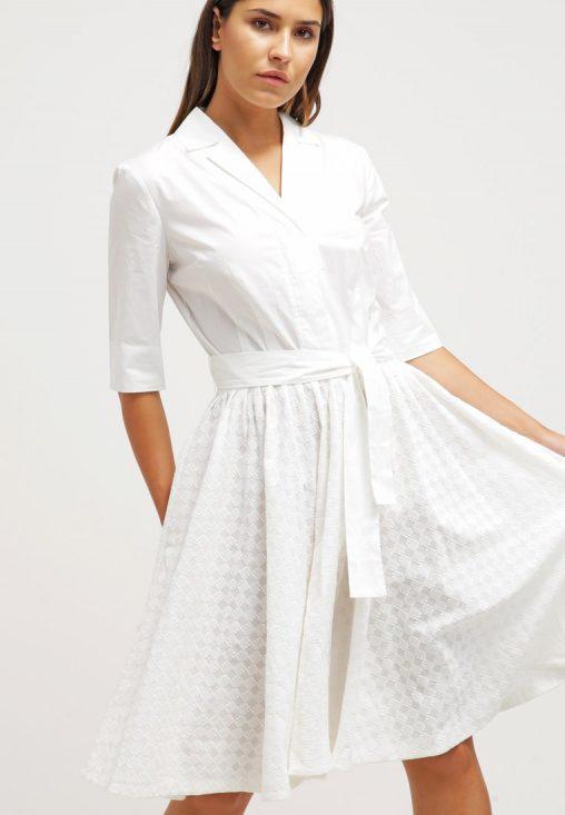 Sukienka koszulowa biała