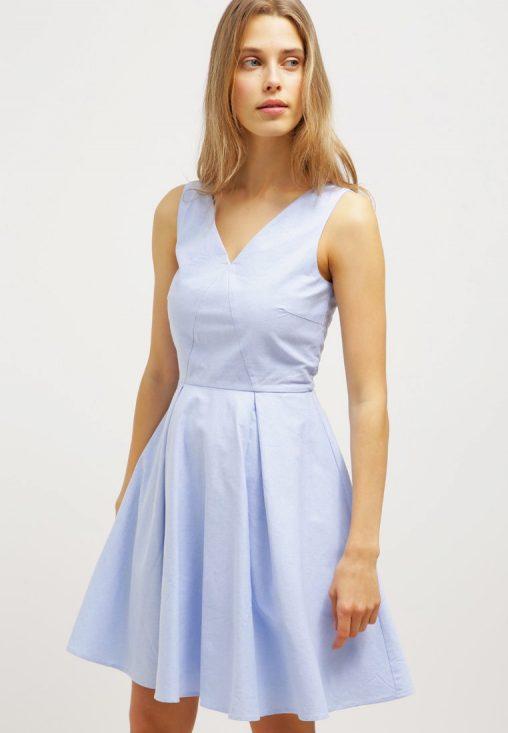 Bawełniana letnia sukienka miętowa