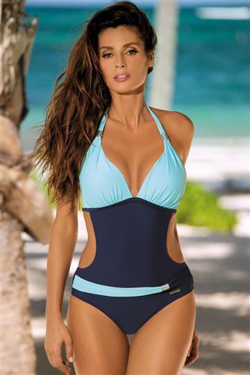 Jednoczęściowy strój kąpielowy monokini