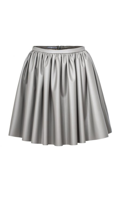 Modna ekskluzywna spódnica damska szara