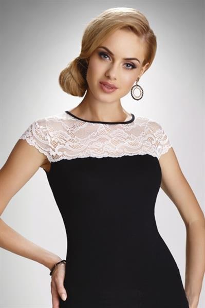 Elegancka bluzka damska z krótkim rękawem