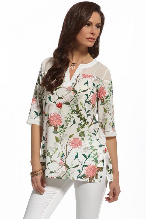 Modna bluzka koszulowa na lato