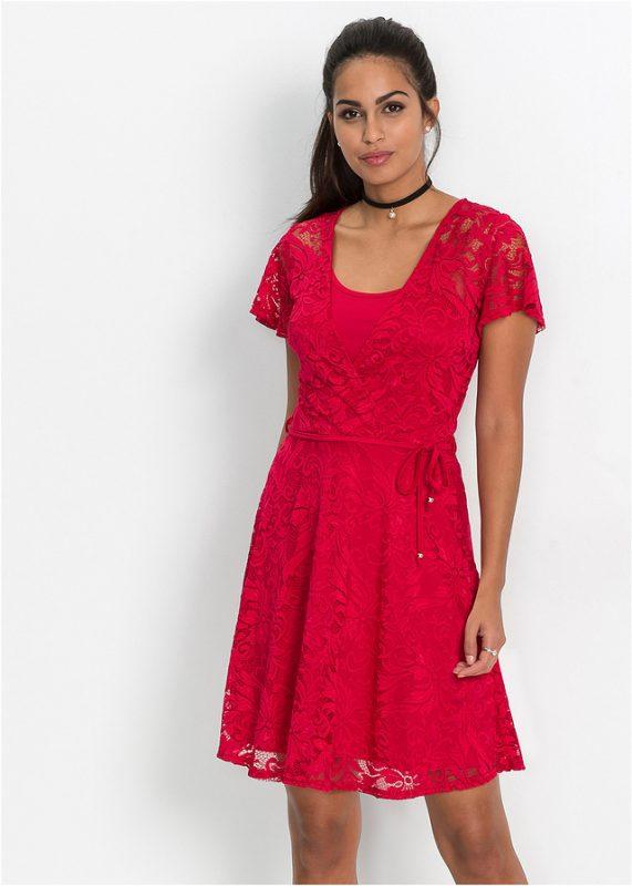 Letnia rozkloszowana sukienka wizytowa