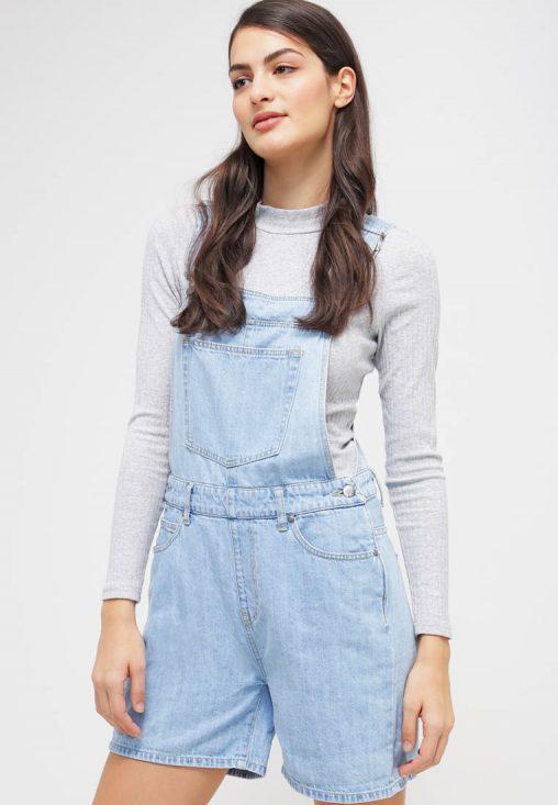 Letni kombinezon jeansowy niebieski