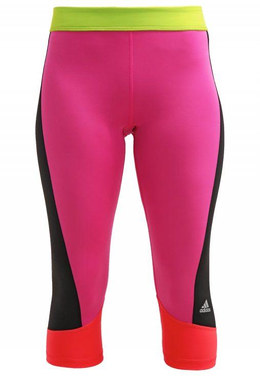 Legginsy fitness adidas ClimaLite różowe