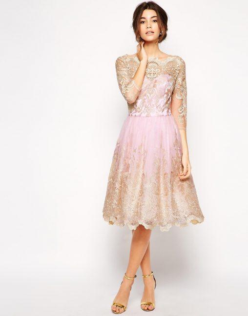 Sukienki tiulowe na wesele lub studniówkę kolor różowy