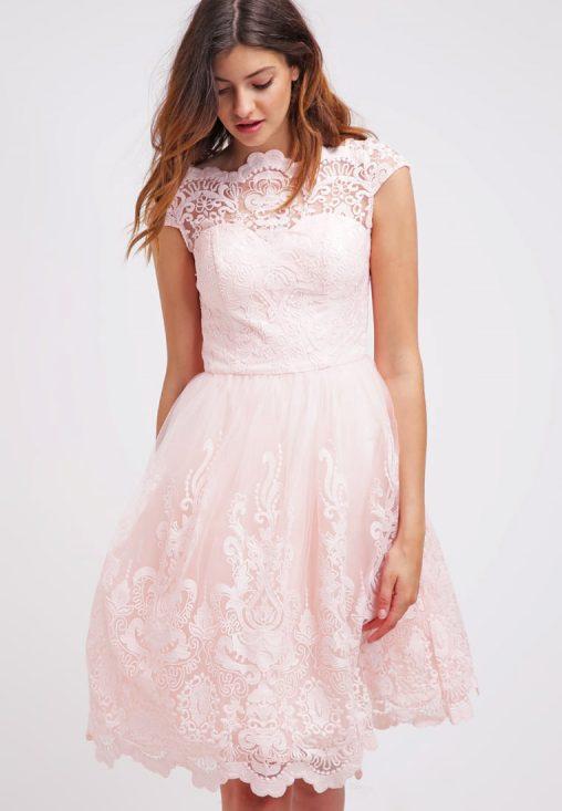 Sukienki balowe na studniówkę sylwestra lub wesele różowa