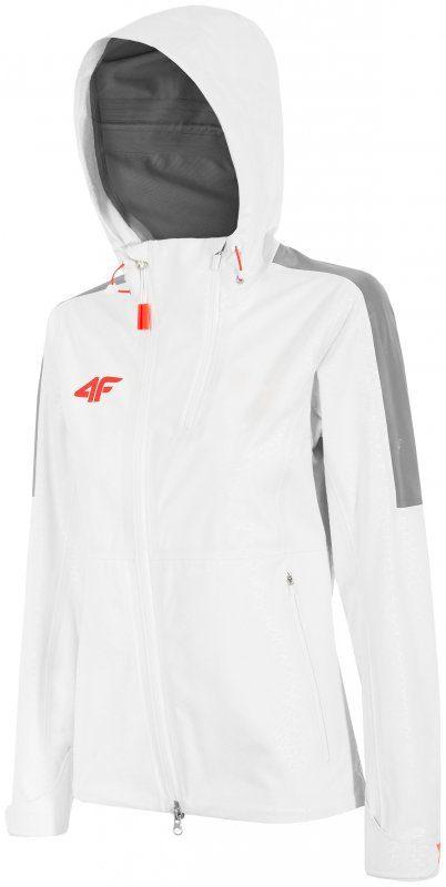 Biała kurtka sportowa damska