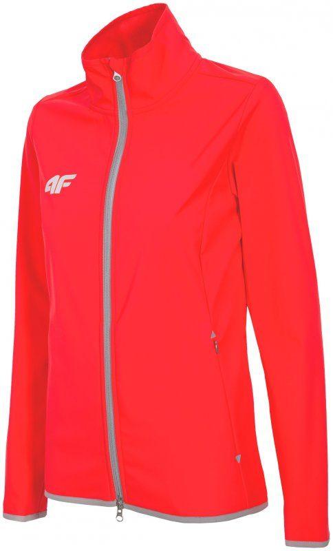 Czerwona kurtka sportowa bez kaptura