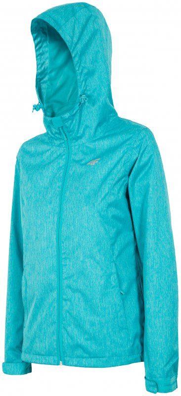 Niebieska sportowa kurtka miejska damska