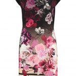 Eleganckie sukienki w kwiaty z dżerseju