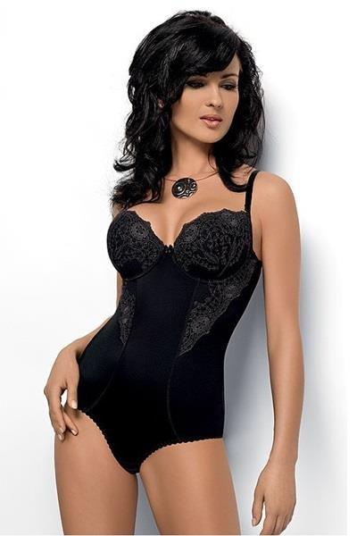 Elegancka bielizna damska czarne Body