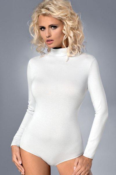 Białe body damskie Vestiva