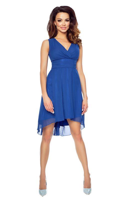 Szyfonowa sukienka odcinana pod biustem