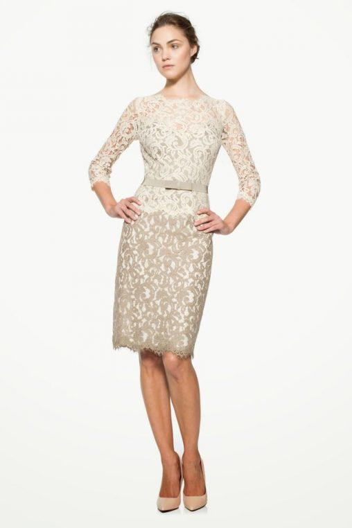 ekskluzywna koronkowa sukienka