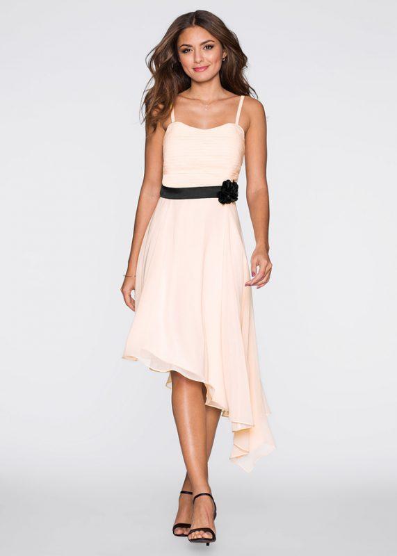 sukienka asymetryczna na lato
