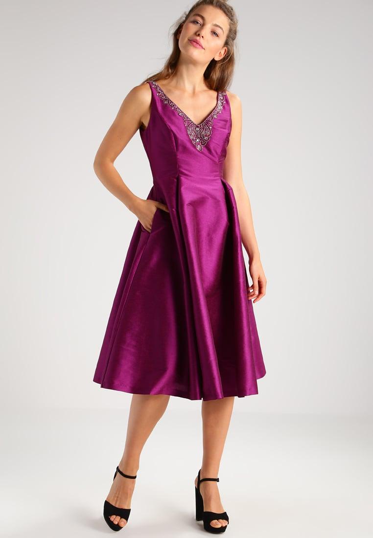 satynowa sukienka wieczorowa