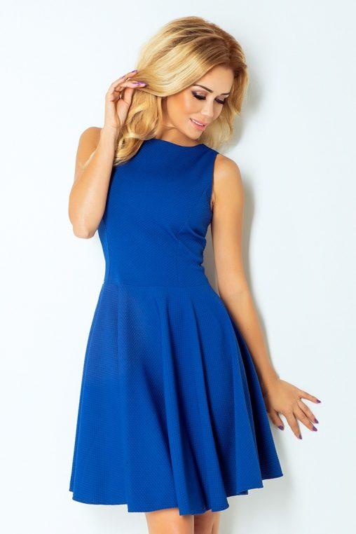 niebieska sukienka koktajlowa