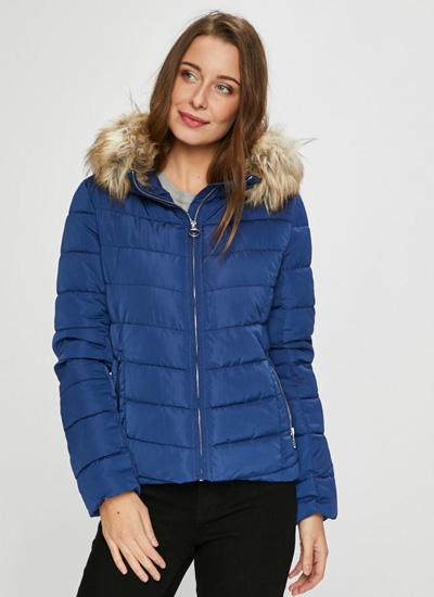 Zimowa kurtka pikowana