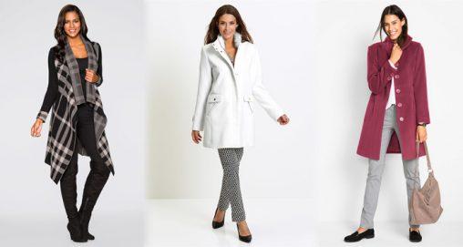 Płaszcze zimowe damskie