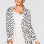 Mięciutki sweter kardigan damski