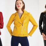 Skórzane kurtki damskie