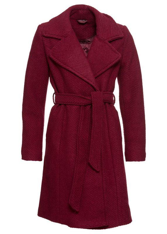 Wełniany płaszcz damski