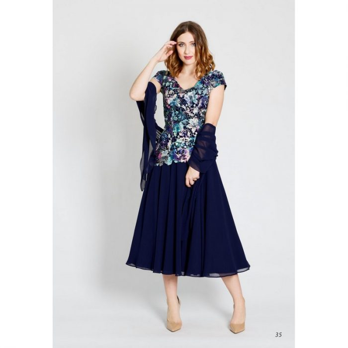 Elegancka suknia koktajlowa Afrodyta