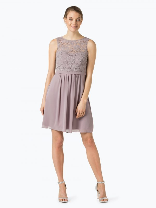 Marie Lund Elegancka sukienka różowa