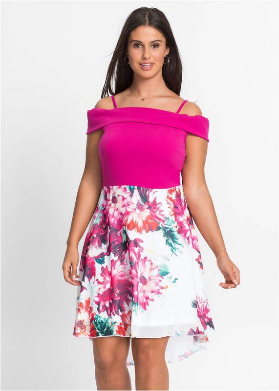 Letnia sukienka plus size dla puszystych