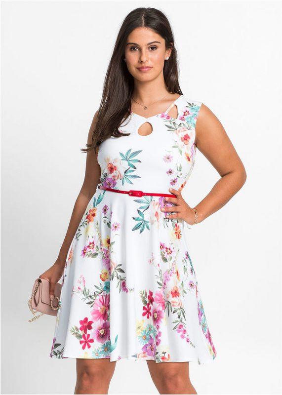 Sukienka letnia plus size