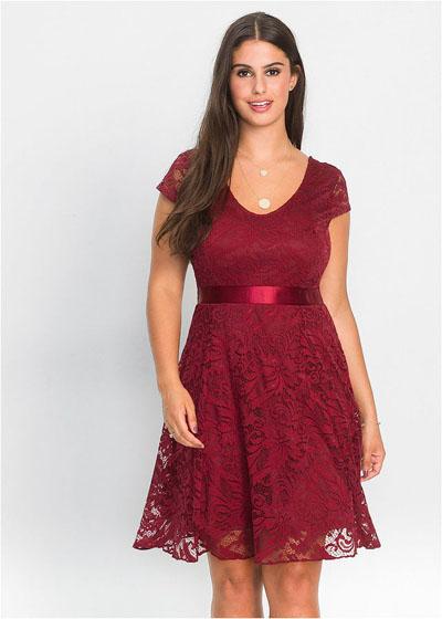 Sukienka na wesele plus size dla puszystych kobiet