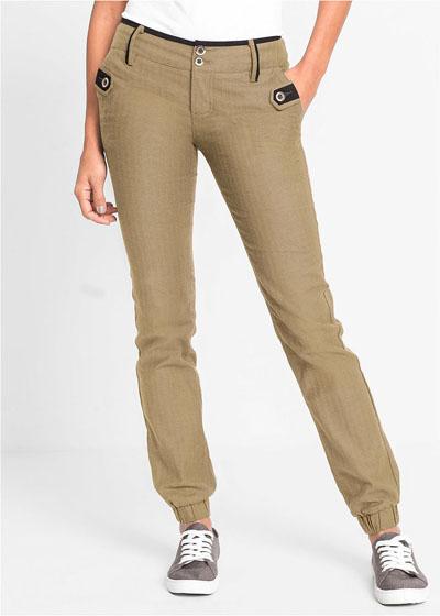 Eleganckie spodnie damskie 9