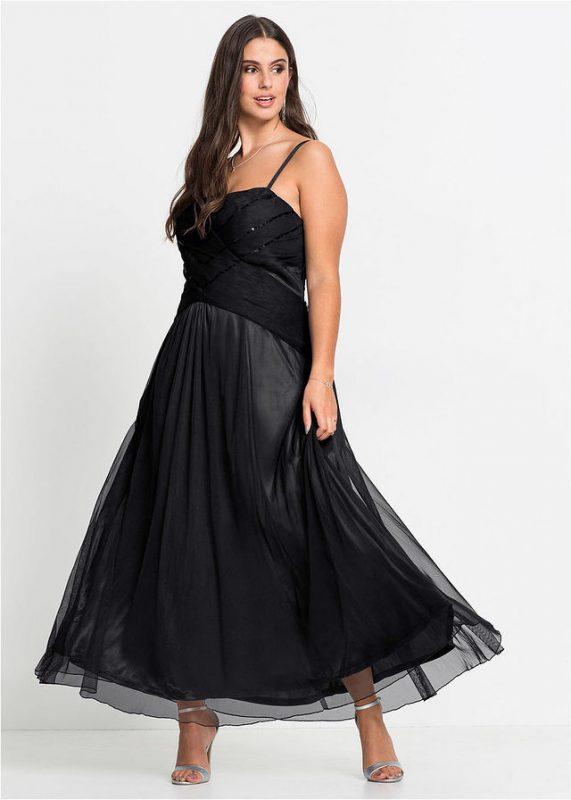 Długa sukienka wieczorowa plus size