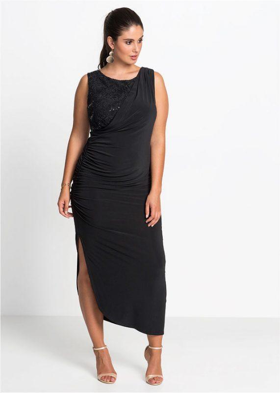 Długa sukienka wieczorowa czarna