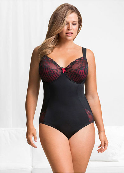 "Body plus size damskie ""minimizer"""