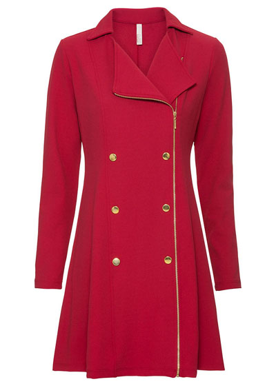 Sukienka biznesowa czerwona