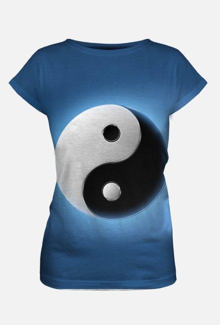 Koszulka damska z nadrukiem Full Print Yin Yang