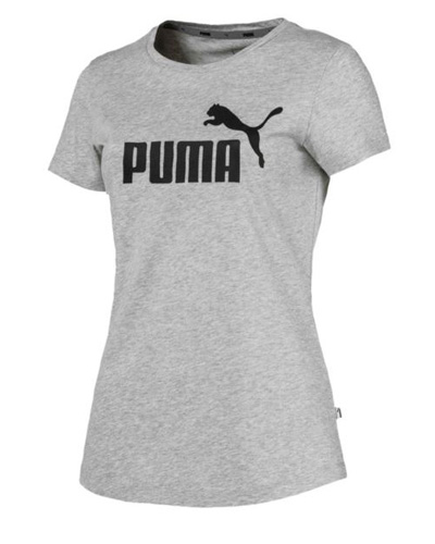 Szara bluzka damska t-shirt Puma na trening