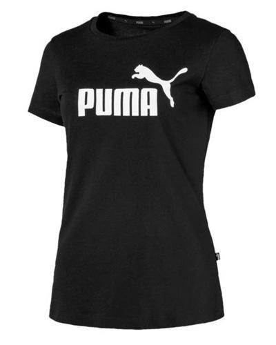 Czarna bluzka sportowa damska t-shirt Essentials Women's Tee