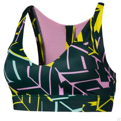 Sportowy biustonosz fitness bieganie kolorowy